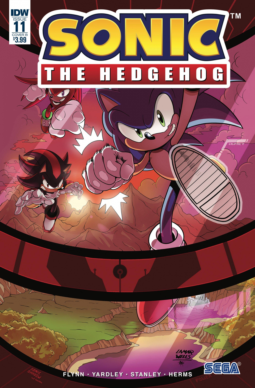 Sonic the Hedgehog 011 (November 2018) (cover b)
