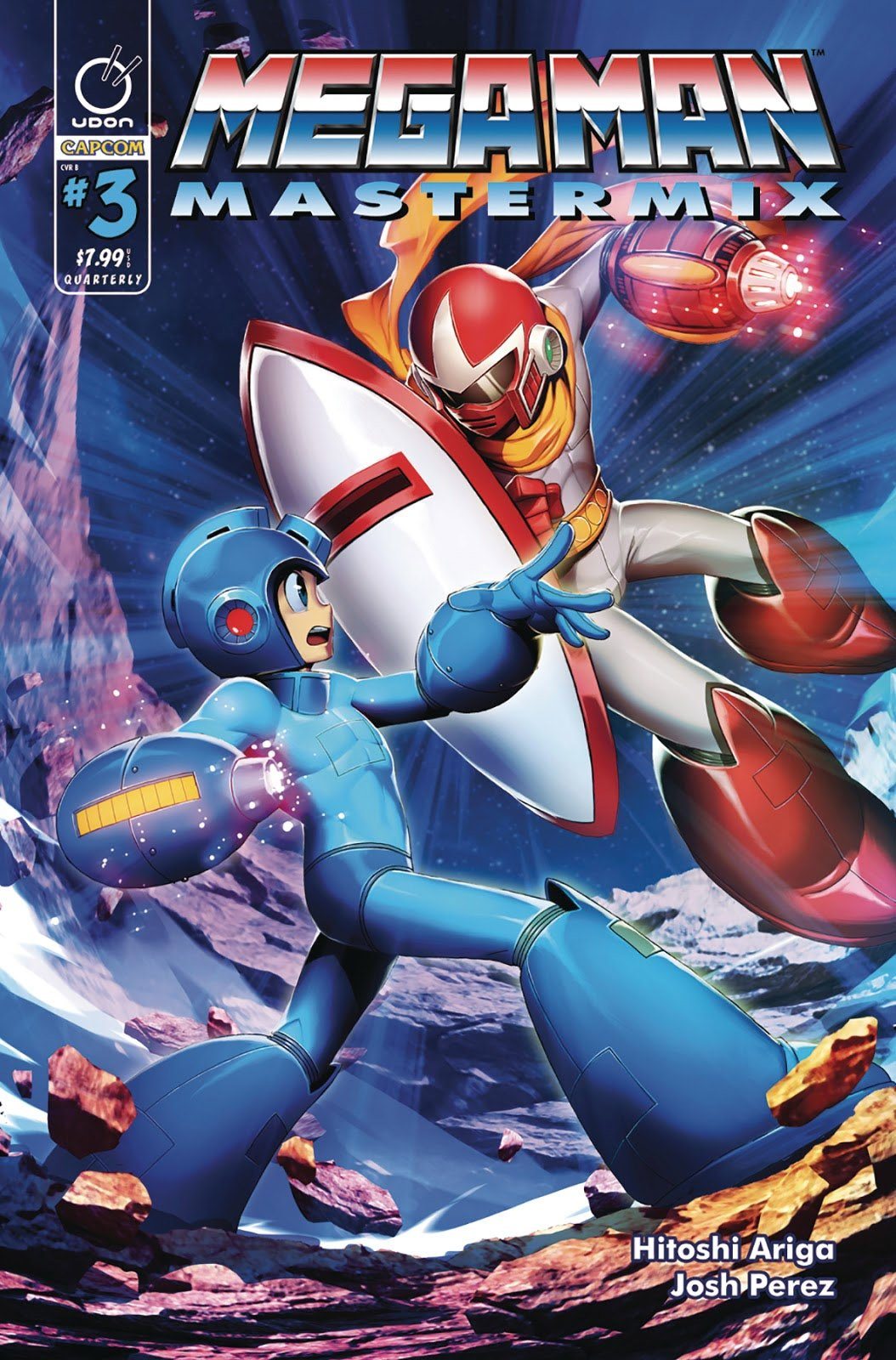 Mega Man Mastermix 003 (August 2018) (cover b)