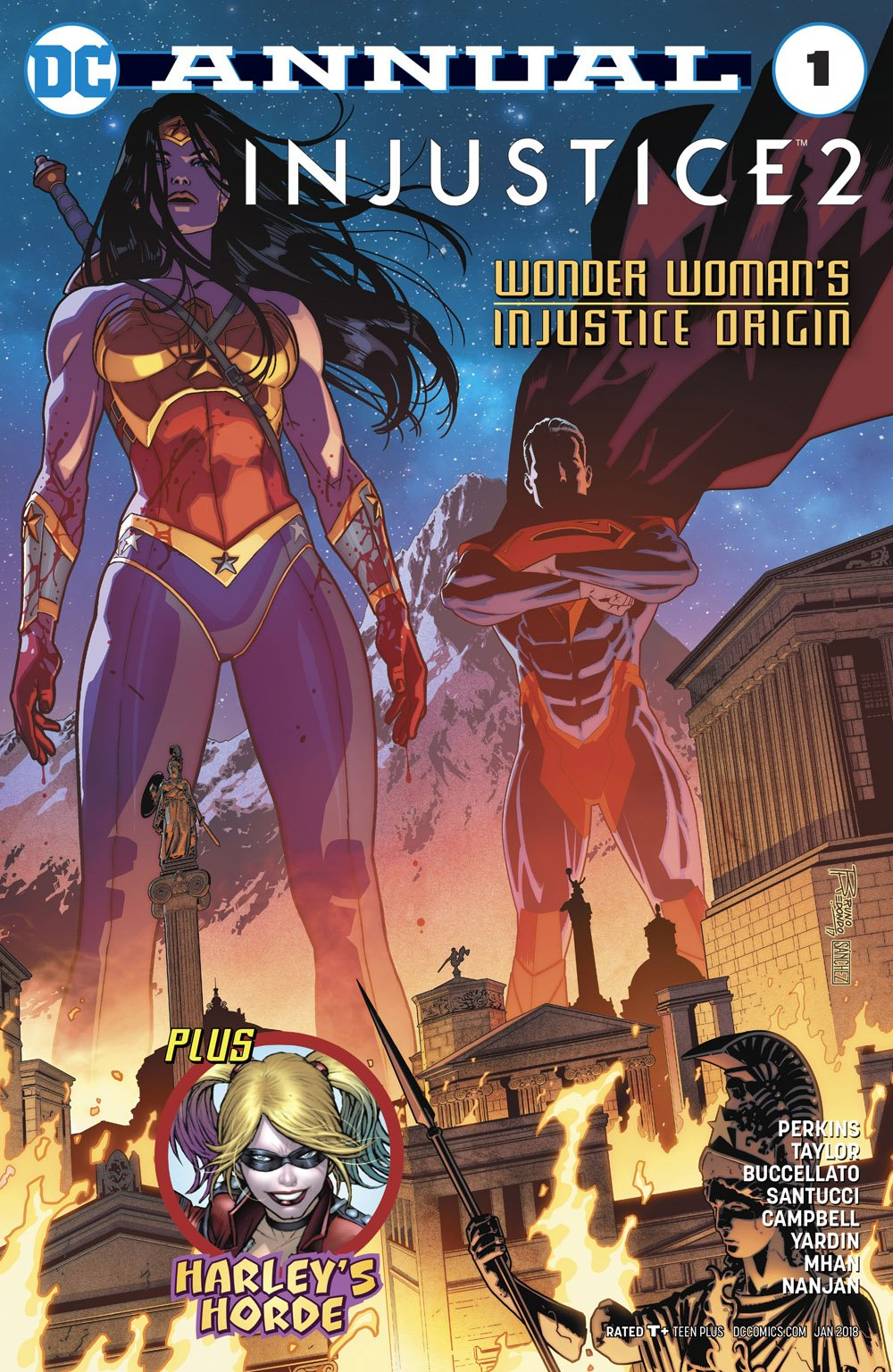 Injustice 2 Annual 1 (January 2018)