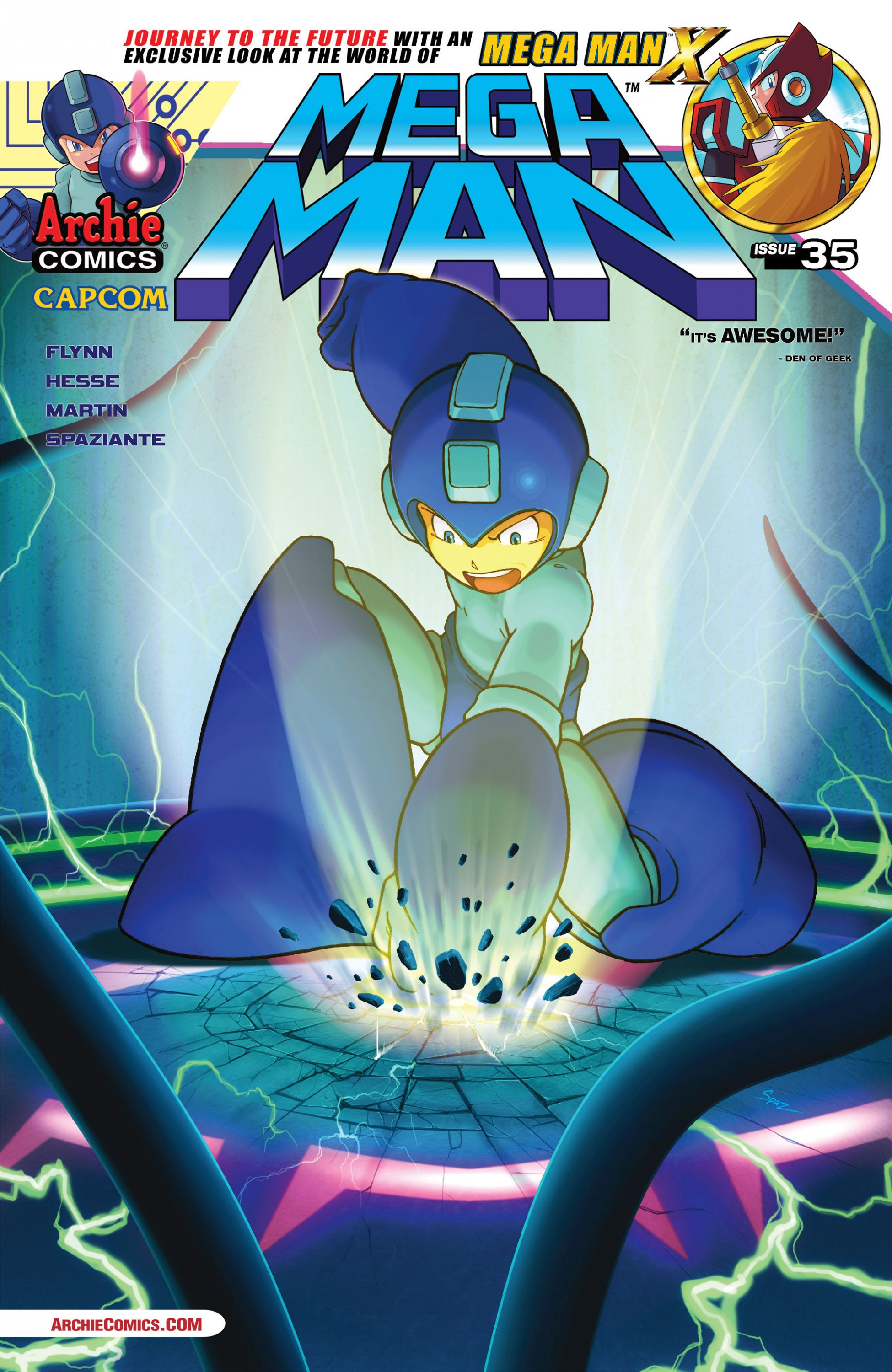Mega Man 035 (May 2014)