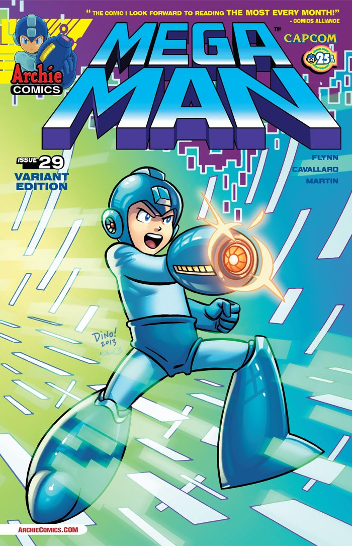 Mega Man 029 (November 2013) (variant)