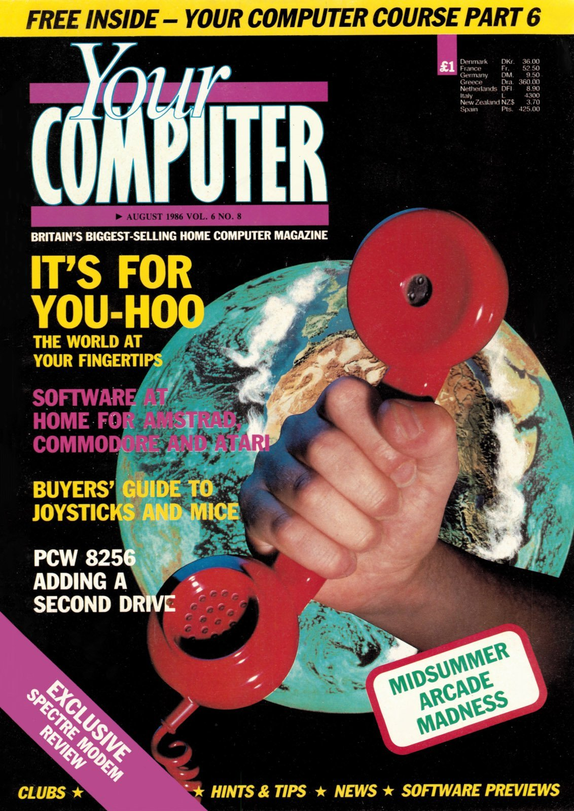 Your Computer Vol.06 No.08 (August 1986)