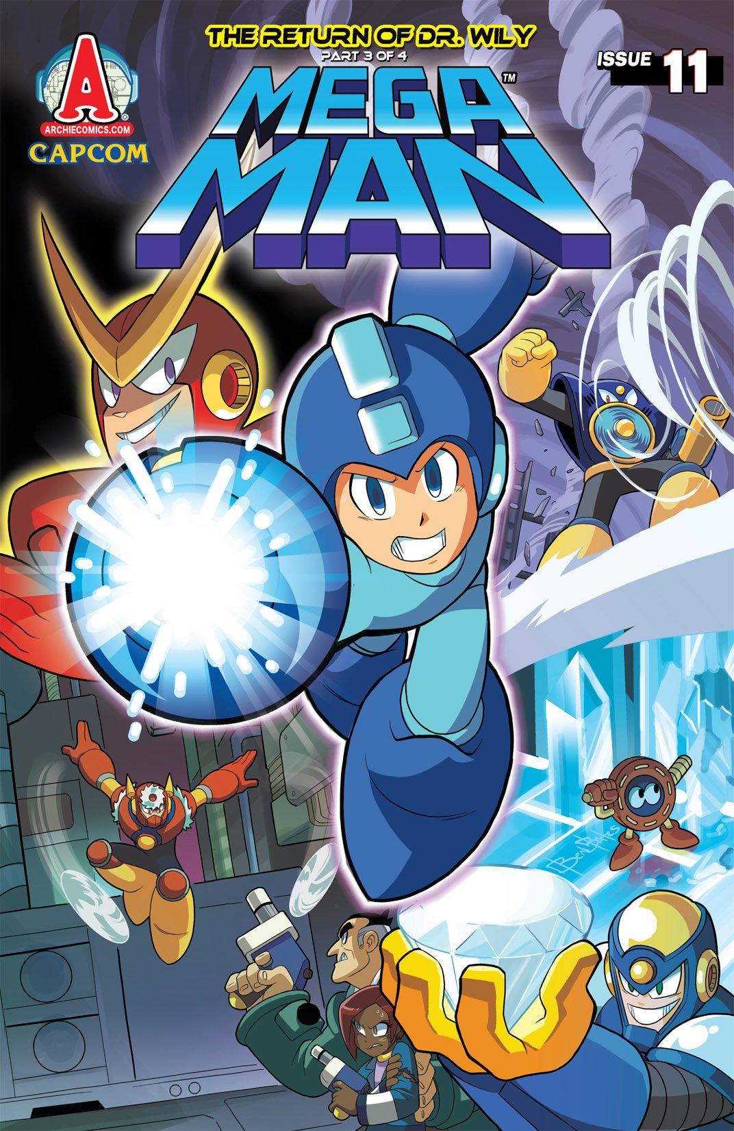 Mega Man 011 (May 2012)