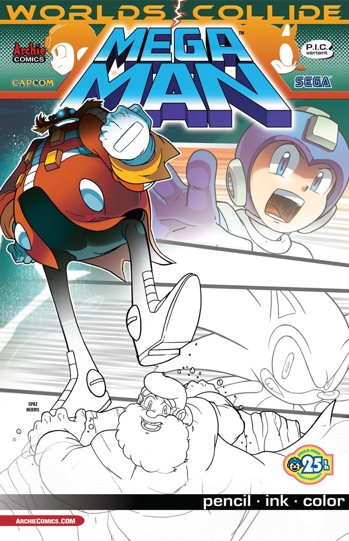 Mega Man 027 (September 2013) (variant)