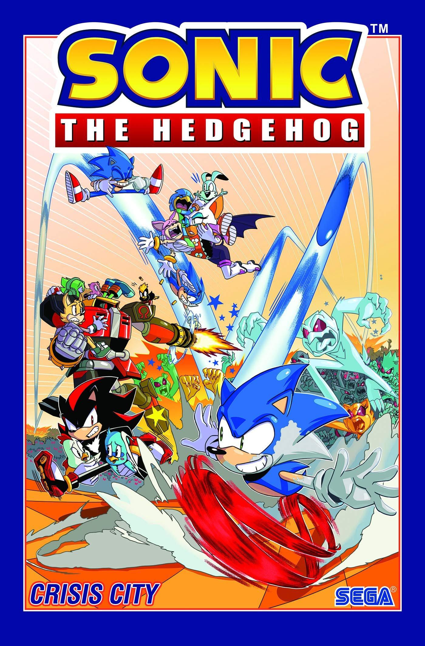 Sonic the Hedgehog Vol.5: Crisis City