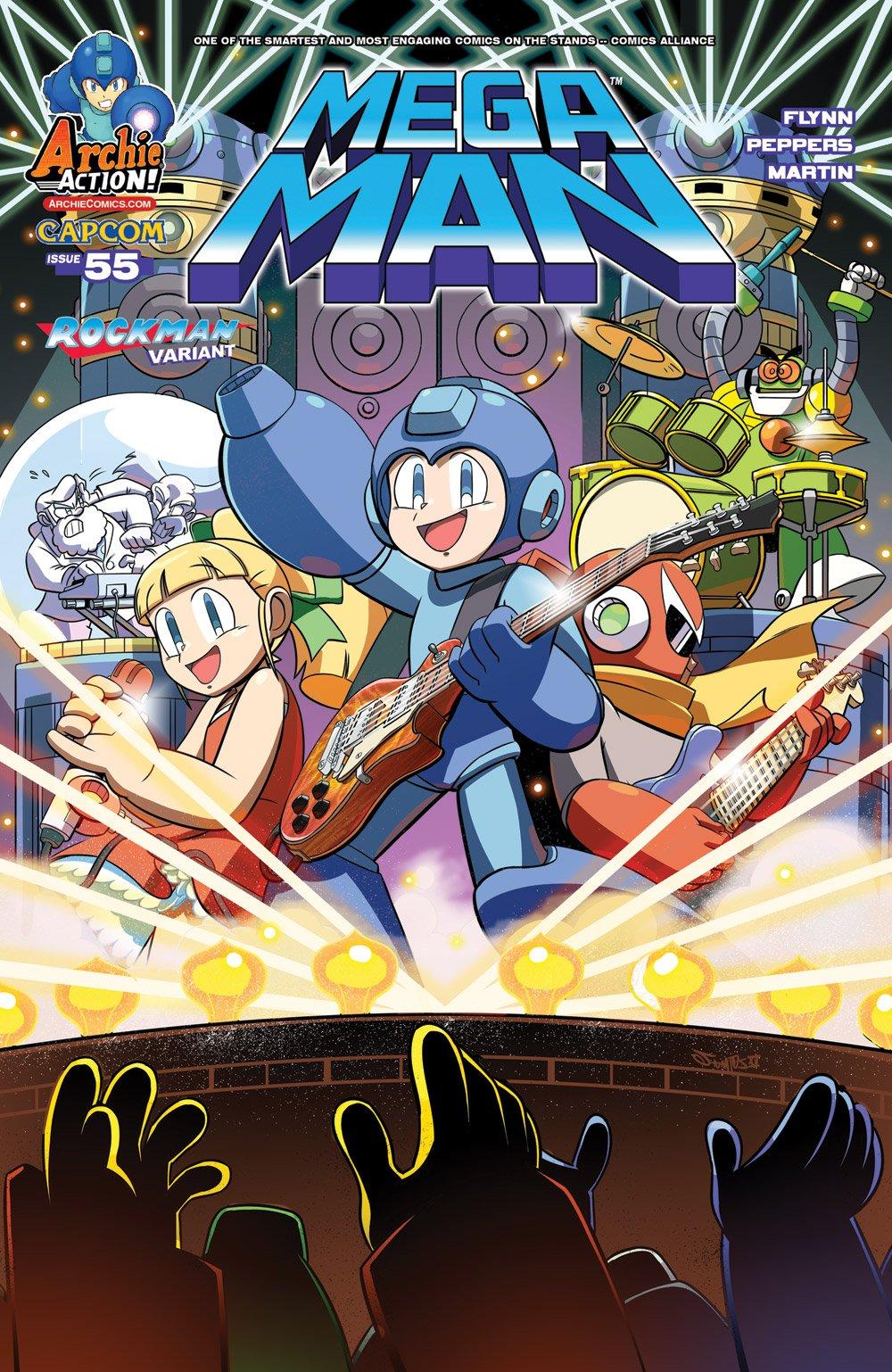 Mega Man 055 (January 2016) (variant)