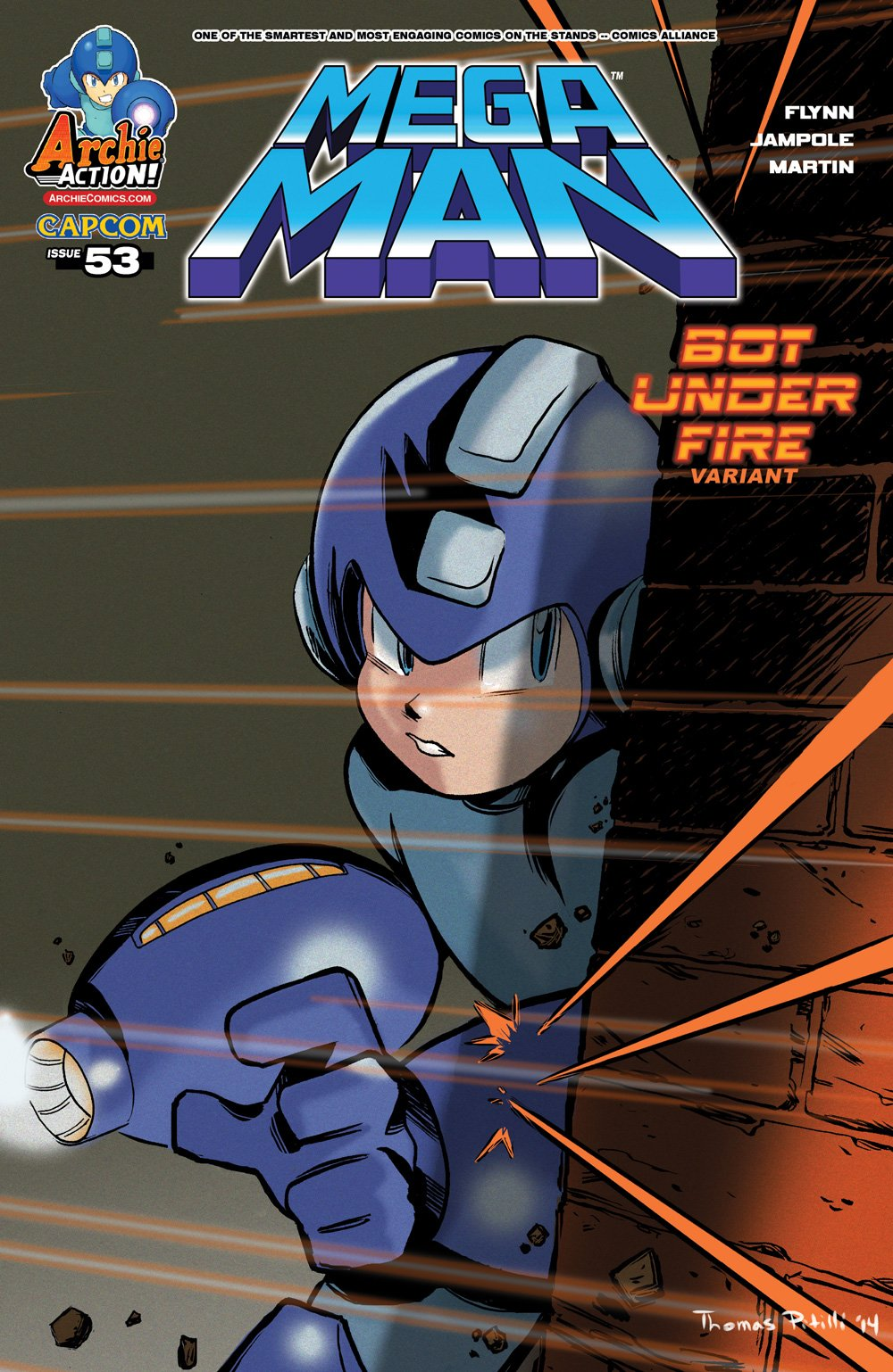 Mega Man 053 (November 2015) (variant)