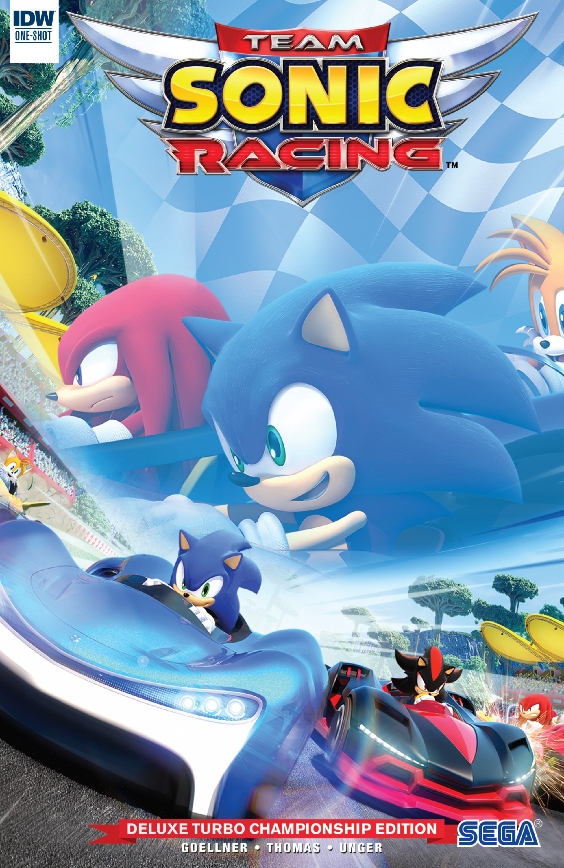 Team Sonic Racing Deluxe Turbo Championship Edition (May 2019)