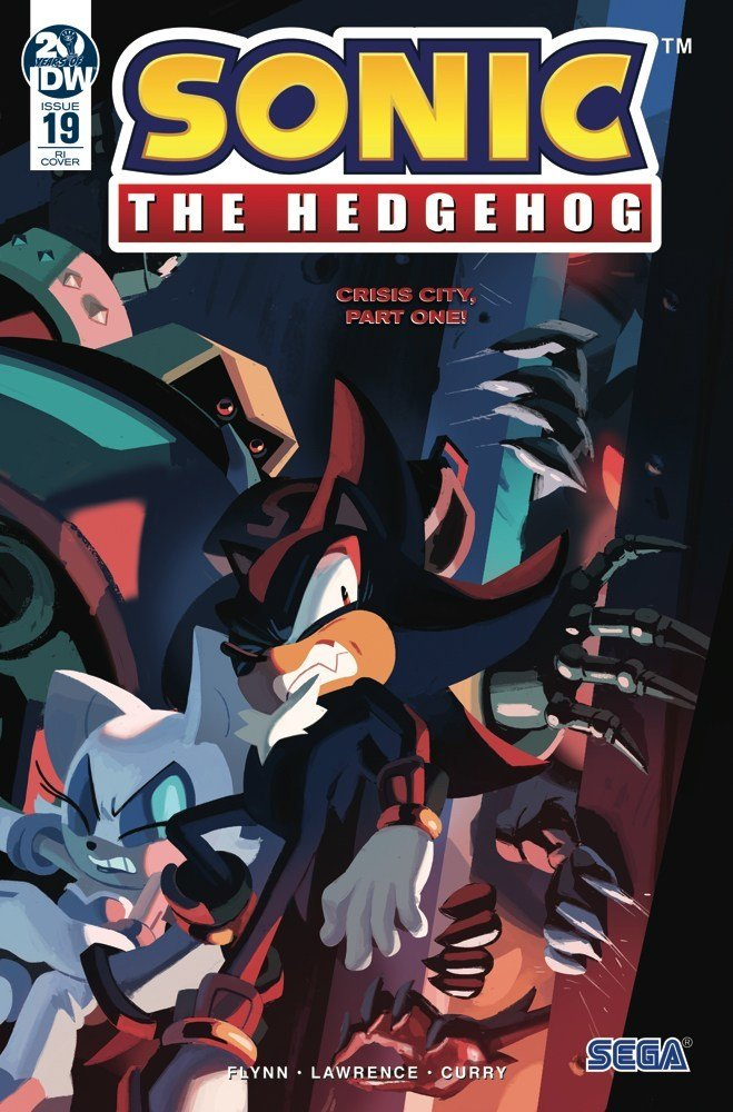 Sonic the Hedgehog 019 (July 2019) (retailer incentive)