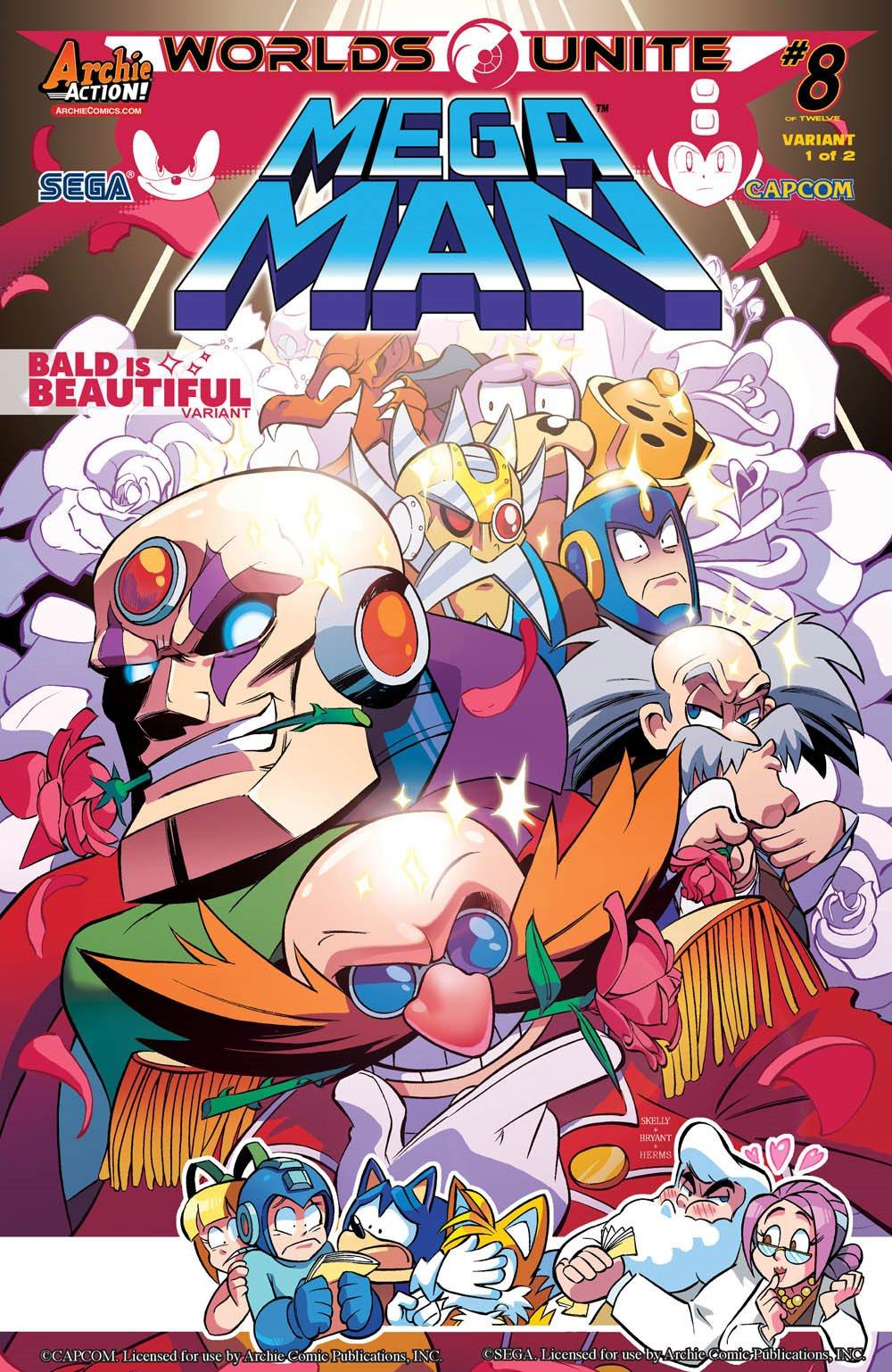 Mega Man 051 (September 2015) (variant 1)
