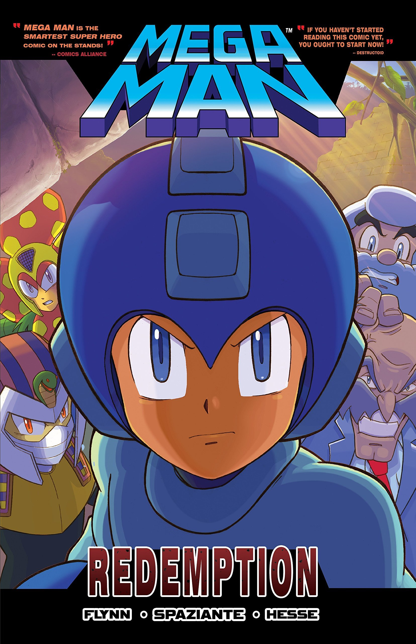 Mega Man Volume 08: Redemption