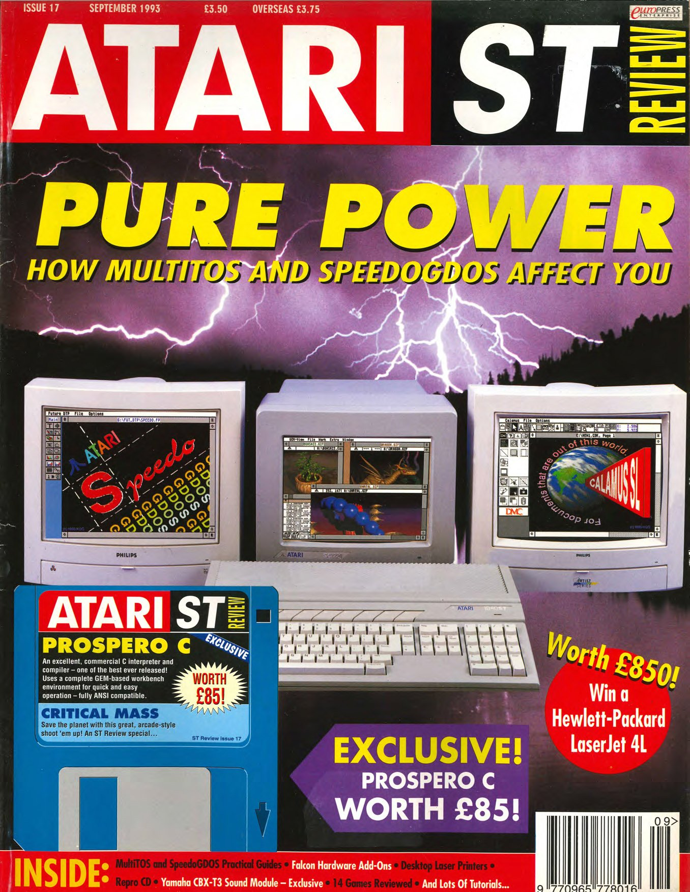 Atari ST Review Issue 17 (September 1993)