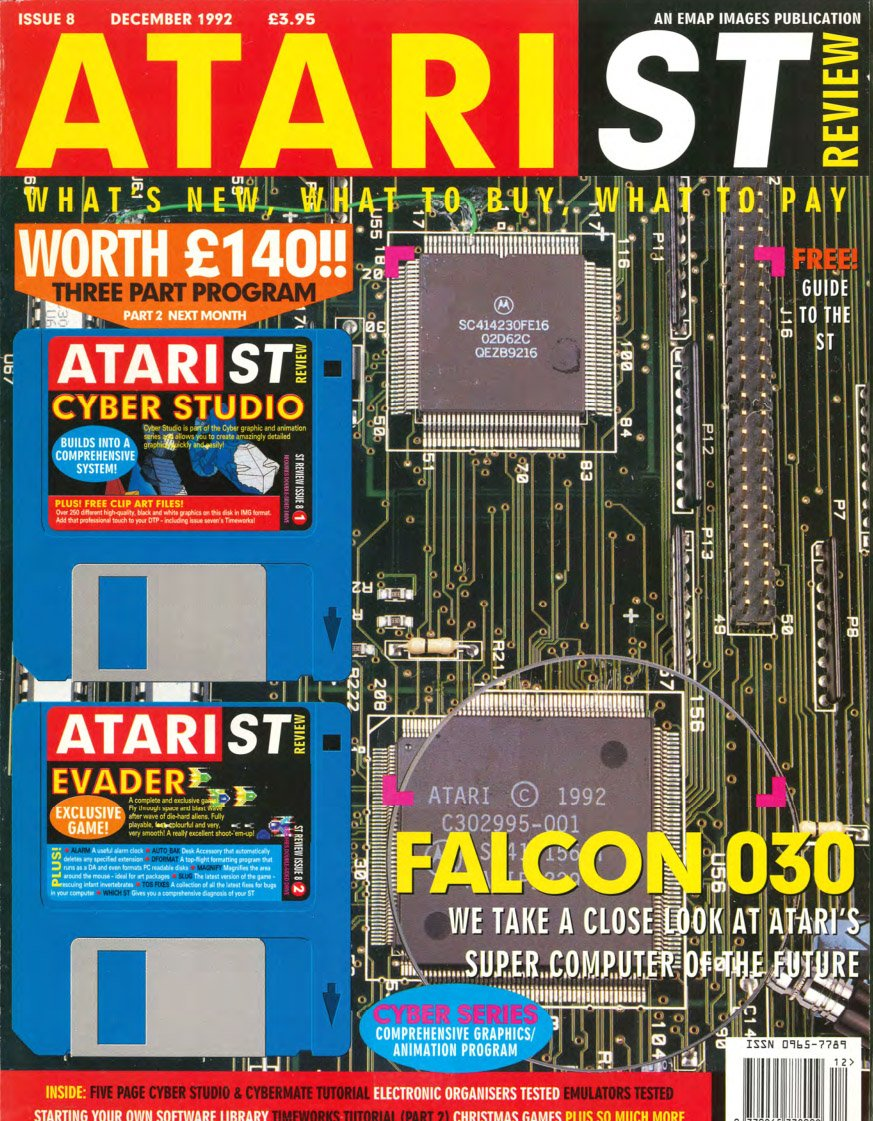 Atari ST Review Issue 08 (December 1992)