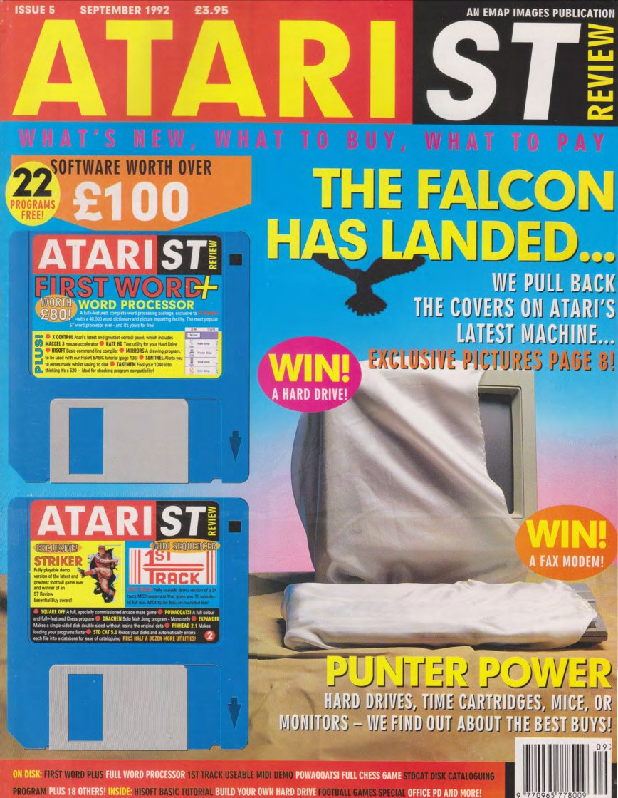 Atari ST Review Issue 05 (September 1992)