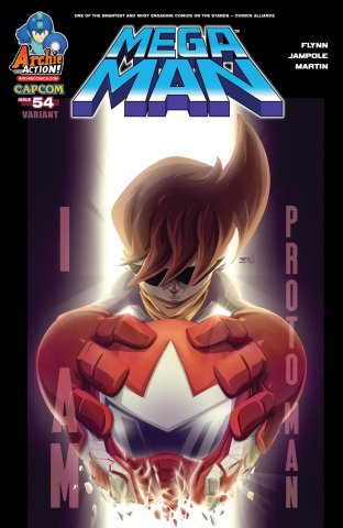 Mega Man 054 (December 2015) (variant)