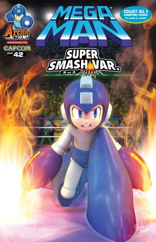 Mega Man 042 (December 2014) (variant)