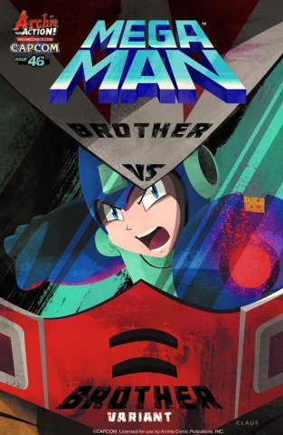 Mega Man 046 (April 2015) (variant)