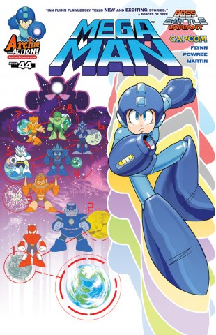 Mega Man 044 (February 2015) (variant)