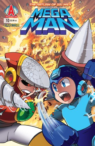 Mega Man 010 (April 2012)