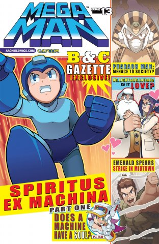 Mega Man 013 (July 2012)