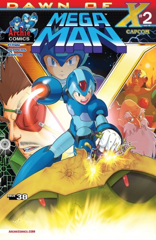 Mega Man 038 (August 2014)