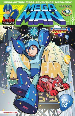 Mega Man 021 (March 2013)