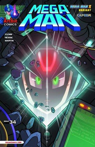 Mega Man 034 (April 2014) (variant)