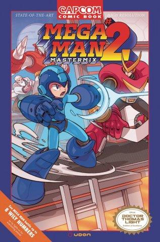 Mega Man Mastermix 002 (April 2018) (variant)