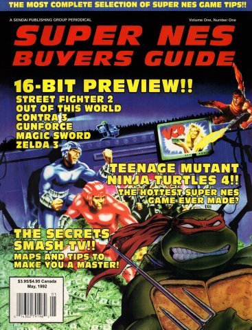 Super NES Buyer's Guide Issue 02 May 1992