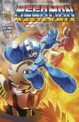 Mega Man Mastermix 002 (April 2018) (cover a)
