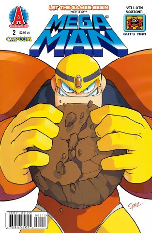 Mega Man 002 (August 2011) (villain variant)