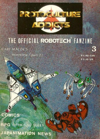 Protoculture Addicts Issue 03 (Winter 1989)