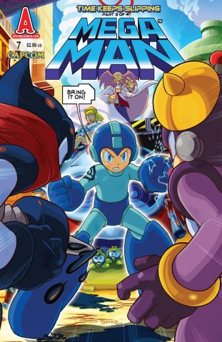 Mega Man 007 (January 2012)