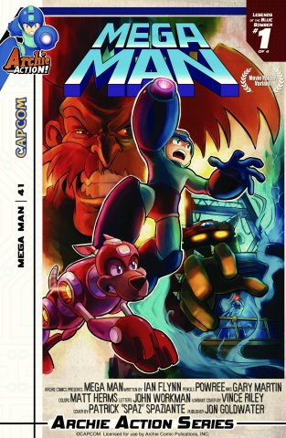 Mega Man 041 (November 2014) (variant)