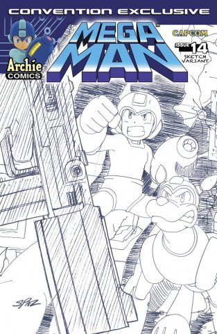 Mega Man 014 (August 2012) (variant)