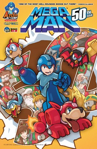 Mega Man 050 (August 2015) (variant 2)