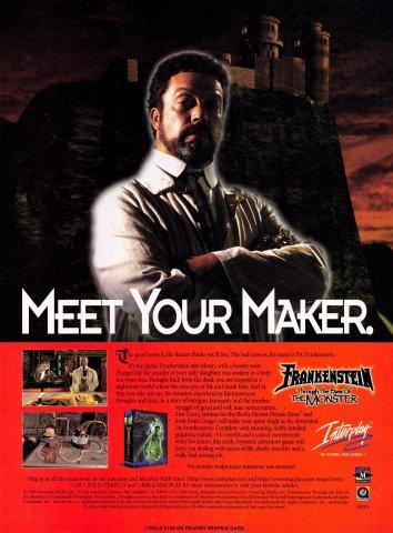 Frankenstein: Through the Eyes of the Monster