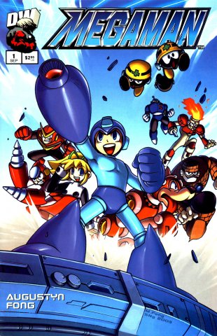 Mega Man 01 (September 2003)