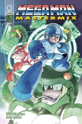 Mega Man Mastermix 003 (August 2018) (cover a)