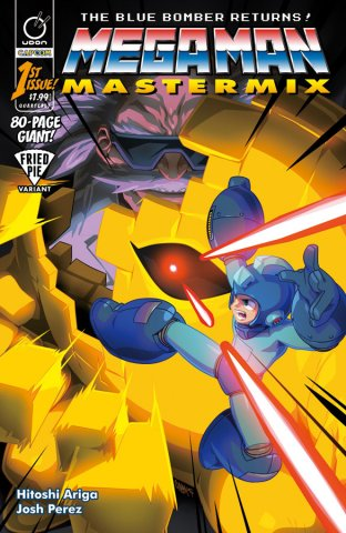 Mega Man Mastermix 001 (January 2018) (Fried Pie variant)