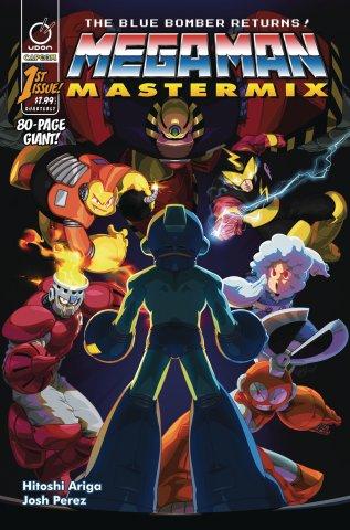 Mega Man Mastermix 001 (January 2018) (cover b)