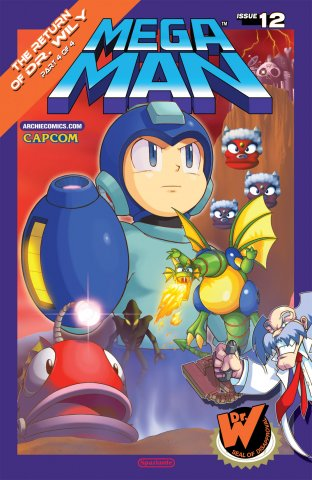 Mega Man 012 (June 2012)