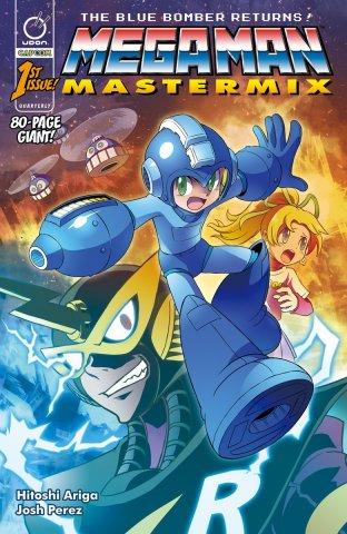 Mega Man Mastermix 001 (January 2018) (cover a)