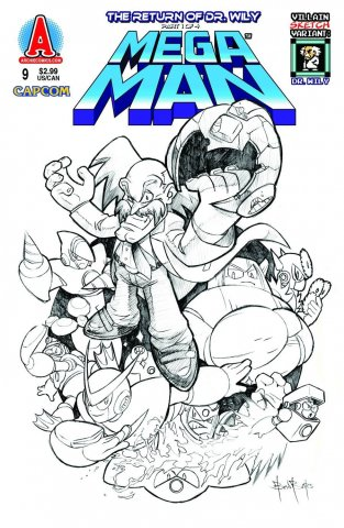 Mega Man 009 (March 2012) (variant)