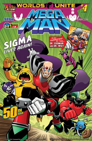 Mega Man 050 (August 2015) (variant 1)