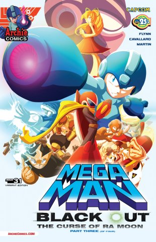 Mega Man 031 (January 2014) (variant)
