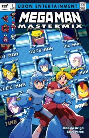 Mega Man Mastermix 001 (January 2018) (retailer incentive)