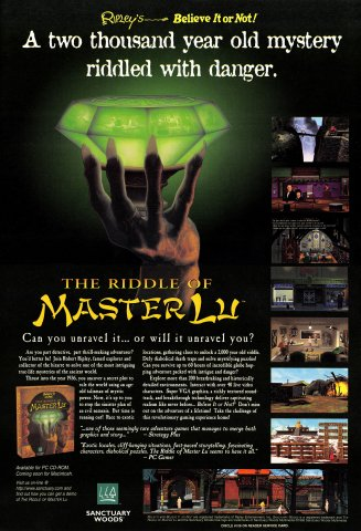 Ripley's Believe It Or Not - The Riddle of Master Lu