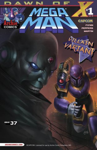 Mega Man 037 (July 2014) (variant 2)