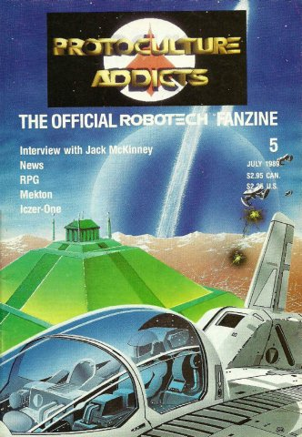 Protoculture Addicts Issue 05 (July 1989)